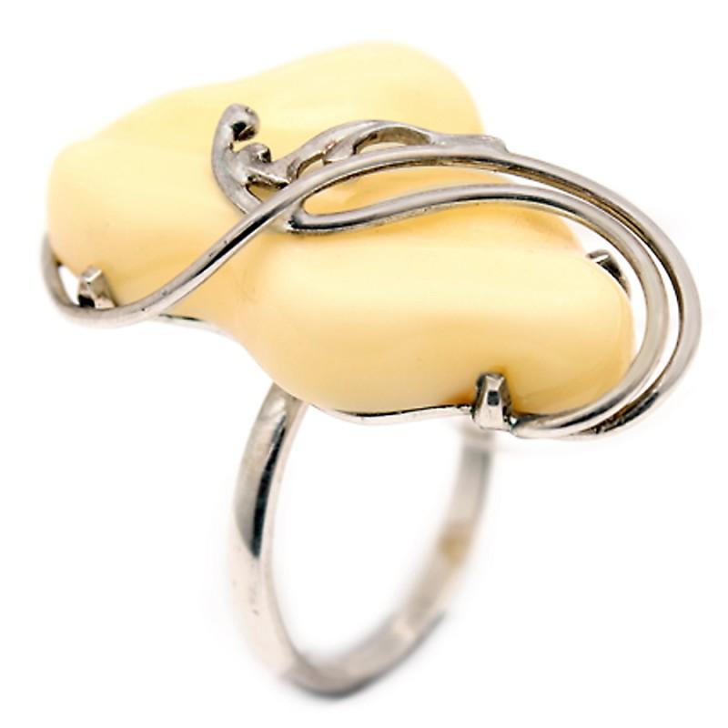 720026 Кольцо Ag925 янтарь (5.60) кольцо шедевр им янтарь