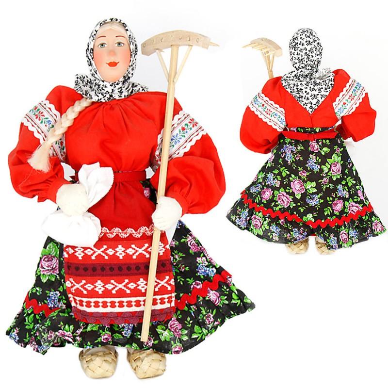 Кукла А2-12 Марья с граблями костюм марья искусница