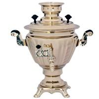 самовар электрический 2л Юла (золото) жидкость аква кем викендер 2л