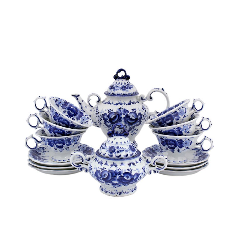 Россия Сервиз чайный авт.Петин сервиз чайный bavaria гамбург 6 23 фарфор