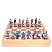 Россия Шахматы Сражение под Полтавой (олово) прохоровское сражение