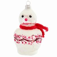 ёлочная игрушка снеговик льдинки-калинки ёлочная игрушка снегурочка 723 1