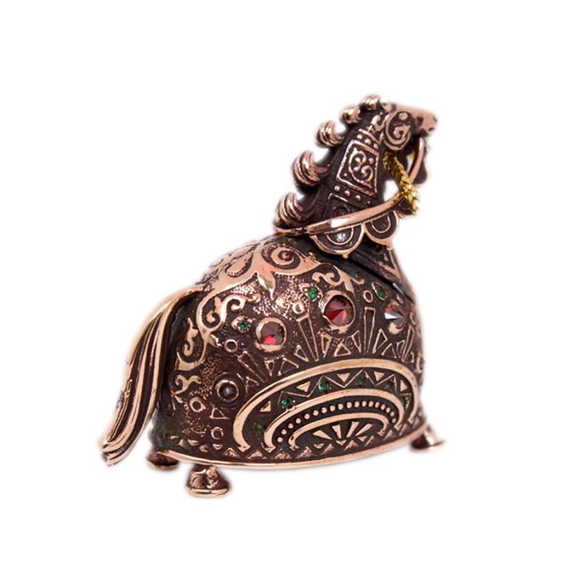 Колокольчик бронзовый Конь - огонь колокольчик бронзовый ангелочек