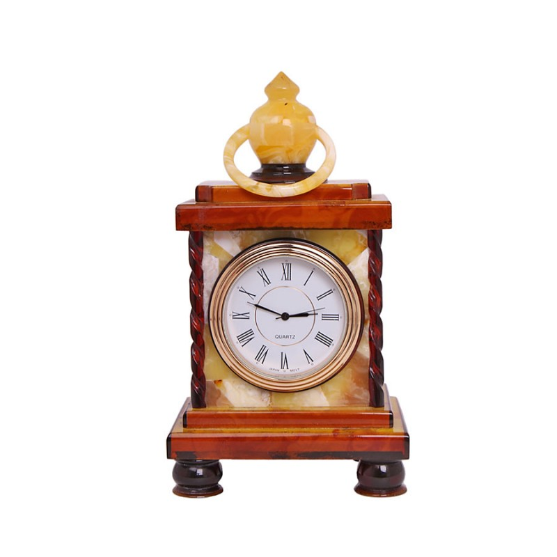 Часы Лампа (янтарь, малые) малые диваны в спб