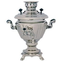 самовар электрический 2л Юла (серебро) жидкость аква кем викендер 2л