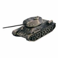 МОДЕЛЬ ТАНКА Т-34/85 ОБРАЗЦА 1943 Г(1:100,БРОНЗА) 1 32 fov80318 russian t 34 85 tank