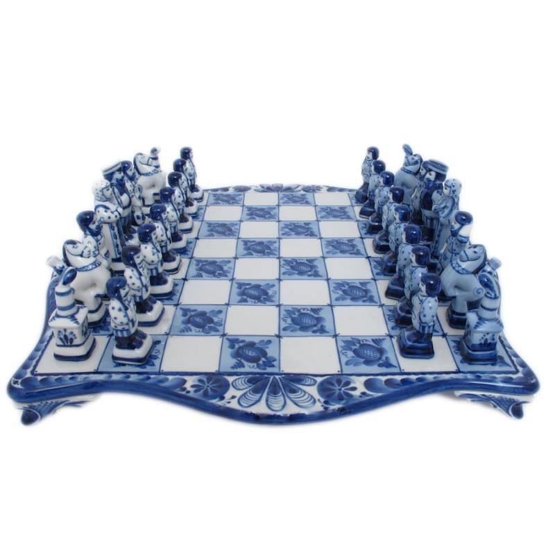 Шахматы 650 лет Гжели от Наследие