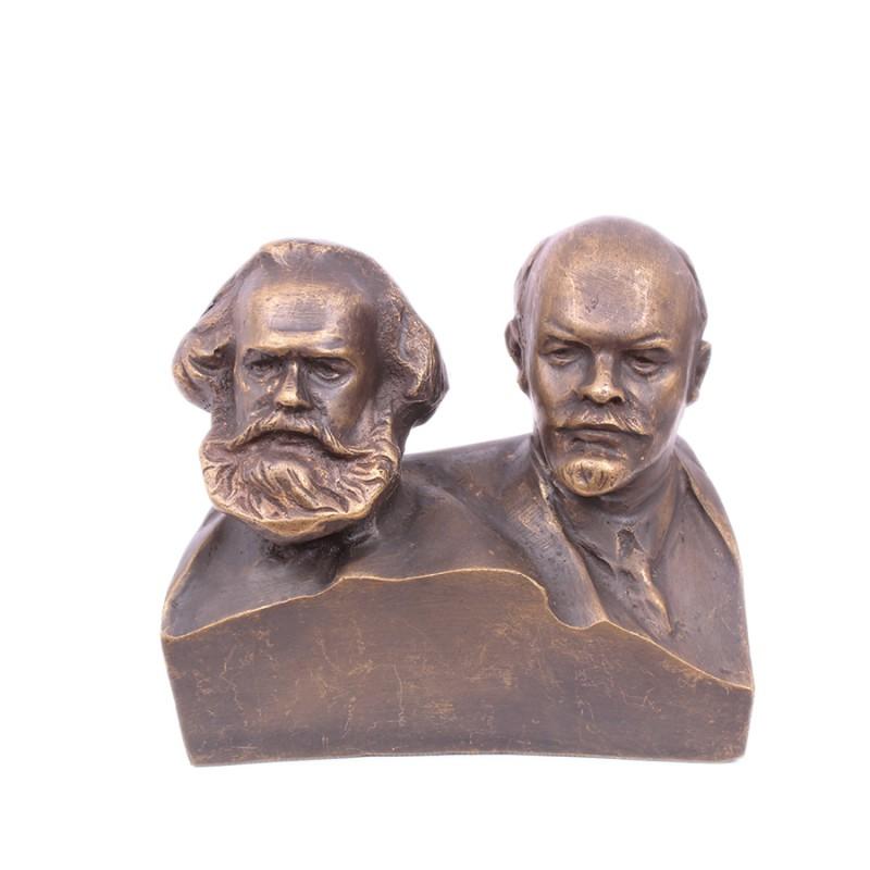 Бюст Маркс и Ленин бюст ленин мал