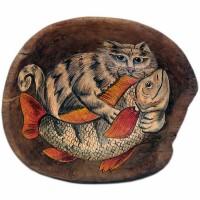 миска кот и рыба олег ольхов рыба морепродукты на вашем столе