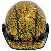 каска хохлома (роспись черный фон) от Наследие