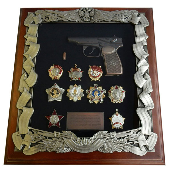 16-286 Панно Макаров с наградами СССР макаров umarex в спб