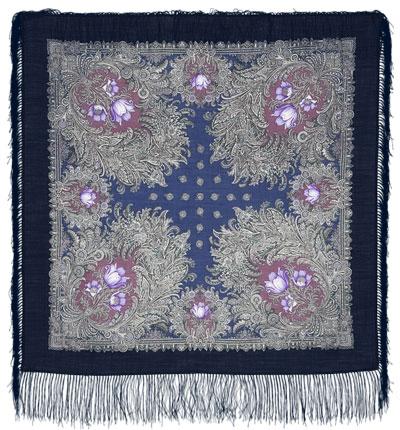 Павловопосадский платок шерстяной с шелковой бахромой Лесное чудо, 89x89 см электрический духовой шкаф electrolux opea4300x opea4300x
