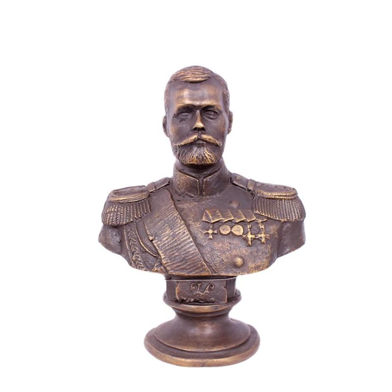 Бюст Николай II мал. куртка лыжн мал