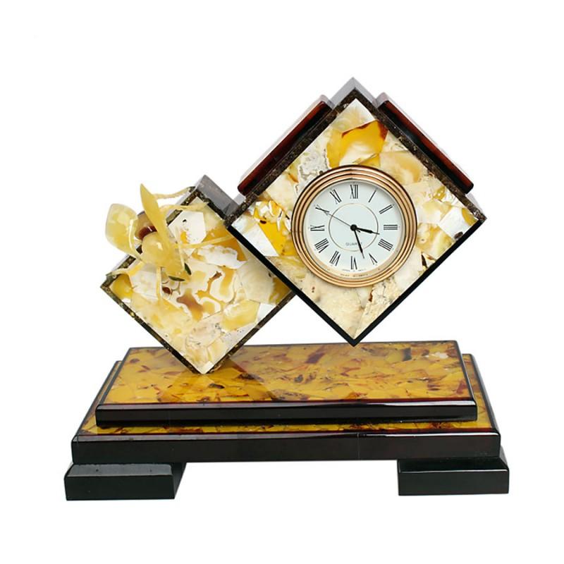 Часы Оса (янтарь)