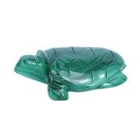 Скульптура Черепаха (малахит) 1 черепаха малахит 4 см