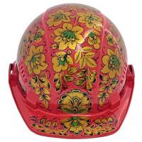 каска хохлома (роспись красный фон цветы) от Наследие