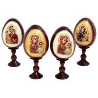 ЯЙЦО РЕЛИГИЯ НА ПОДСТАВКЕ В АССОРТИМЕНТЕ (Я0360) яйцо на подставке воскресение христово дерево
