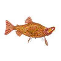 Панно настенное Рыба нерка Хохлома олег ольхов рыба морепродукты на вашем столе