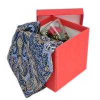 Подарочный набор 8 марта (платок крепдешин+цветок) платки venuse 73029 набор подарочный платок бусы