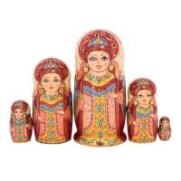 Россия Матрешка Царица Анна 5 мест 1