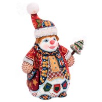 Скульптура Снеговик (клоун) скульптура снеговик клоун