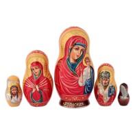 Матрешка Религия. Богородица 15 см икона янтарная богородица скоропослушница кян 2 305