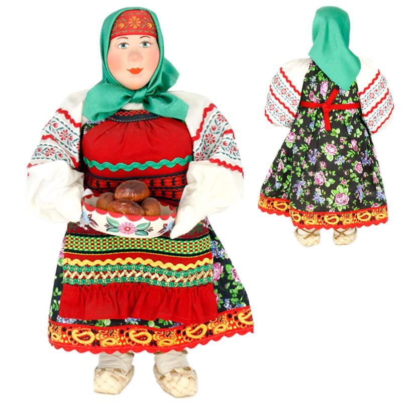 Кукла А2-14 Баба с блюдом