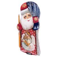 "Скульптура из дерева ""Дед мороз"" (1040)"
