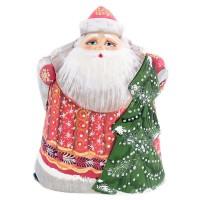 скульптура Дед мороз с ёлкой (1000) скульптура дед мороз 9