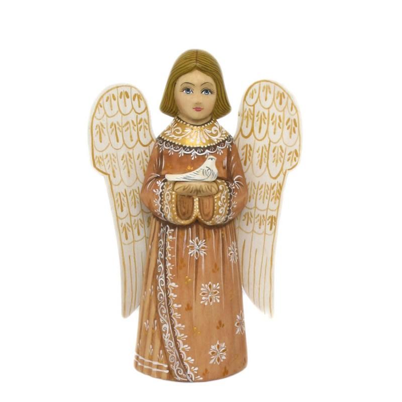 Скульптура из дерева Ангел 17-18см