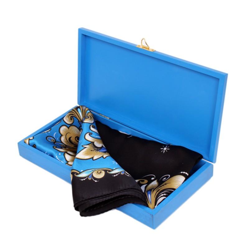 Подарочный набор Зимняя птица Павловопосадский платок Хохломская сказка в шкатулке платки venuse 73029 набор подарочный платок бусы