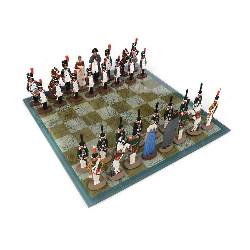 Шахматы олово Бородино от Наследие