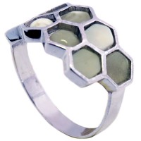Россия Кольцо 25030100001 (Ag925, янтарь) 3,68