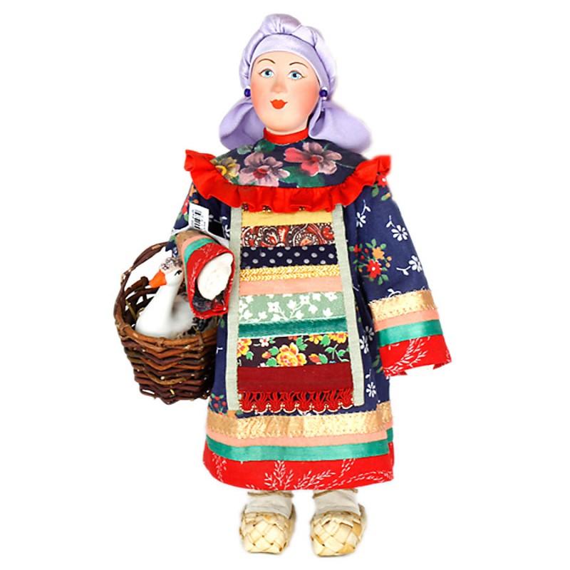 Кукла СКМД-1 Фрося с гусем