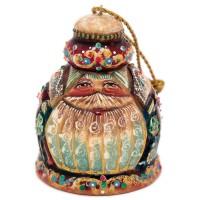 Ёлочная игрушка Колокольчик-мороз россия ёлочная игрушка колокольчик рябина