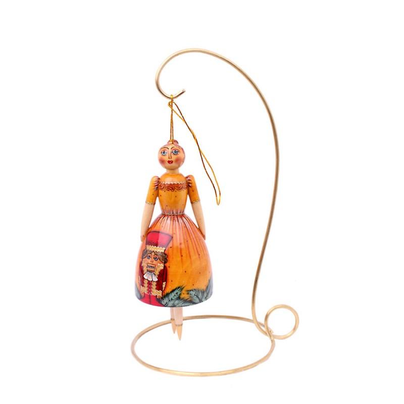 Игрушка подвесная Кукла 15см