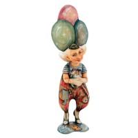 Скульптура Клоун с шариками скульптура снеговик клоун