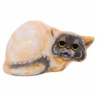 скульптура Кот (стеатит) россия скульптура кот гармонист
