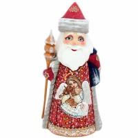 скульптура Дед мороз(рис.девочка со скрипкой) скульптура дед мороз 9