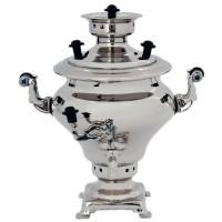 Самовар сувенирный серебро