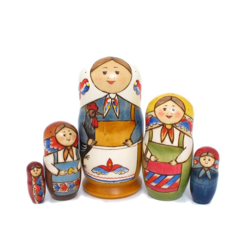 Матрешка 5 мест 1я русская  (Гуслица) 15-16см 1я квартира в белгороде купить