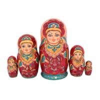 Россия Матрешка Царица Анна 5 мест 2