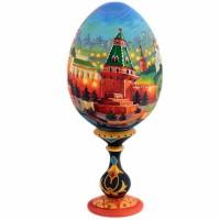 ЯЙЦО МОСКВА НА ПОДСТАВКЕ_7 яйцо на подставке воскресение христово дерево