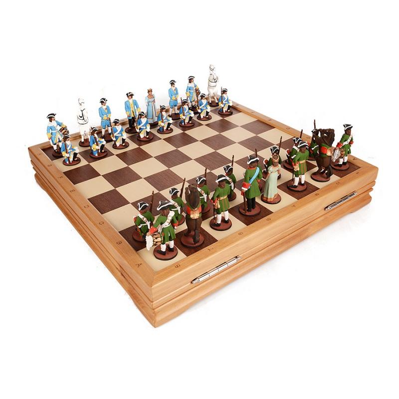 Шахматы олово Петр. от Наследие
