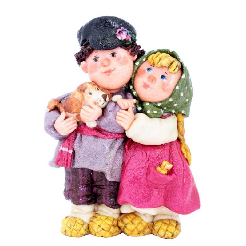 "Кукла ""Мукасоль"" пара большая"