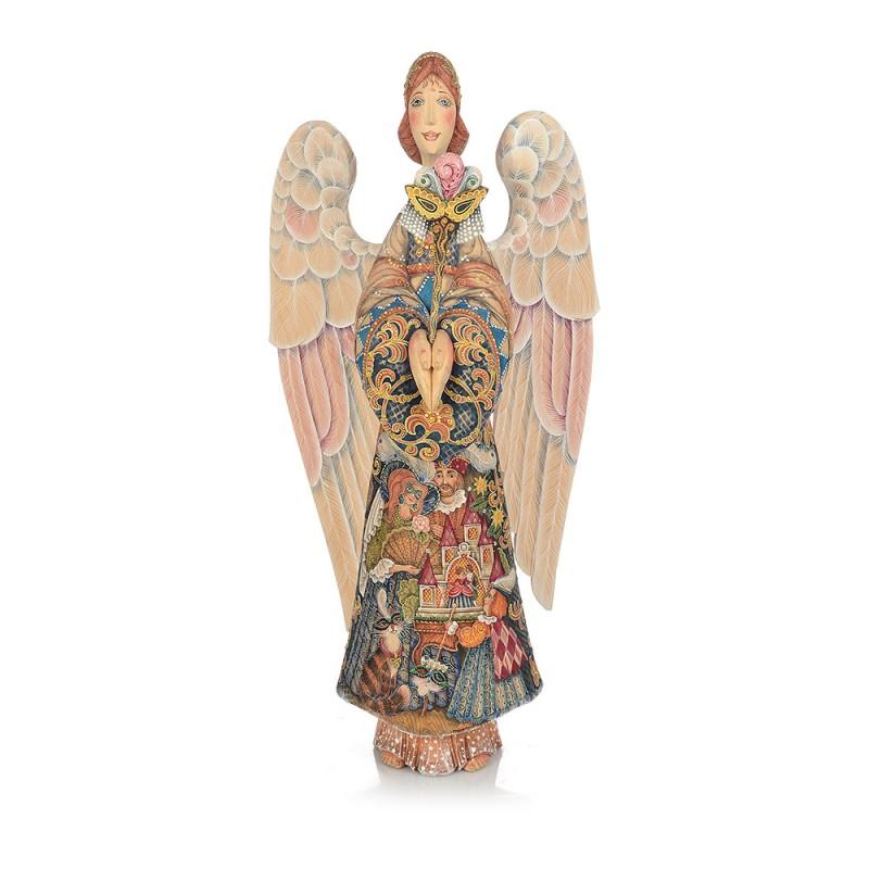 """Скульптура деревянная """"Ангел"""" от Наследие"""