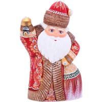 Скульптура Дед мороз мягкие игрушки woody o time плюшевый дед мороз