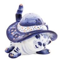 Россия Скульптура Кот в шляпе в/з россия скульптура кот гармонист