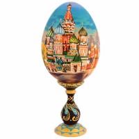 ЯЙЦО МОСКВА НА ПОДСТАВКЕ_6 яйцо на подставке воскресение христово дерево
