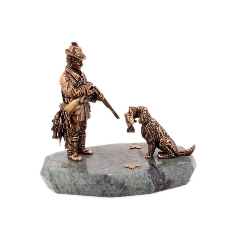 Охотник шарж
